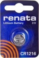 Аккумуляторная батарейка Renata 1xCR1216