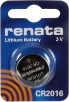 Аккумуляторная батарейка Renata 1xCR2016