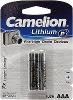 Аккумуляторная батарейка Camelion Lithium 2xAAA