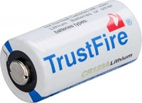 Аккумуляторная батарейка TrustFire 1xCR123