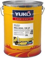 Моторное масло Yukoil Mega Diesel 15W-40 20L