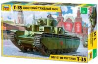 Сборная модель Zvezda Soviet Heavy Tank T-35 (1:35)