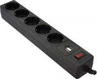 Сетевой фильтр / удлинитель Patron 5/1.8m USB