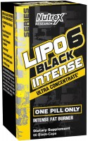 Сжигатель жира Nutrex Lipo-6 Black Intense Ultra Concentrate 60 cap