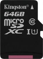 Карта памяти Kingston microSDXC Canvas Select 64Gb