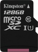 Карта памяти Kingston microSDXC Canvas Select 128Gb