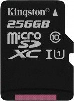 Карта памяти Kingston microSDXC Canvas Select 256Gb