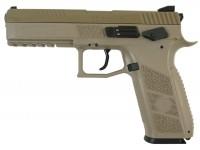 Пневматический пистолет ASG CZ P-09 FDE