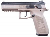 Пневматический пистолет ASG CZ P-09 DT FDE