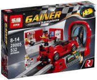 Конструктор Lepin Ferrari FXX K and Development Center 28005