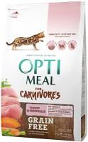 Фото - Корм для кошек Optimeal Adult Turkey And Vegetables 0.65 kg