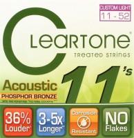 Струны Cleartone Phosphor Bronze Custom Light 11-52