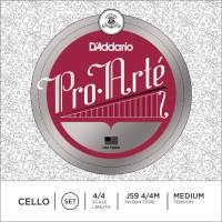 Струны DAddario Pro-Arte Cello 4/4 Medium