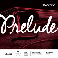 Струны DAddario Prelude Cello 4/4 Medium