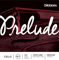 Струны DAddario Prelude Cello 3/4 Medium