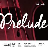 Струны DAddario Prelude Bass 3/4 Medium