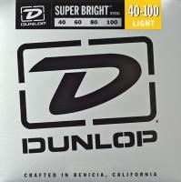 Струны Dunlop Super Bright Steel Bass 40-100