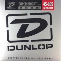 Струны Dunlop Super Bright Nickel Wound Bass 45-105