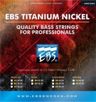 Струны EBS Titanium Nickel 5-String 45-125