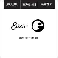 Струны Elixir Acoustic Phosphor Bronze Single 22