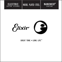 Струны Elixir Electric Nanoweb Nickel Plated Steel Single 24
