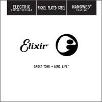 Струны Elixir Electric Nanoweb Nickel Plated Steel Single 52