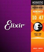 Струны Elixir Acoustic Phosphor Bronze 12-String 10-47
