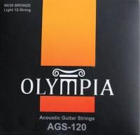 Струны Olympia 80/20 Bronze 12-String 10-47