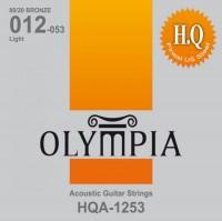 Струны Olympia 80/20 Bronze HQ Light 12-53