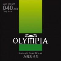 Струны Olympia 80/20 Bronze Acoustic Bass 40-95