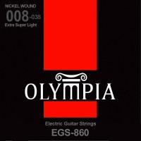 Струны Olympia Nickel Wound Extra Super Light 8-38