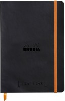 Блокнот Rhodia Squared Goalbook A5 Black