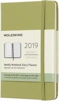 Ежедневник Moleskine Weekly Planner Pocket Mint