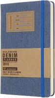 Ежедневник Moleskine Denim Daily Planner Blue