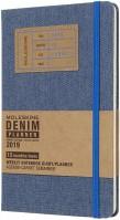 Ежедневник Moleskine Denim Weekly Planner Blue