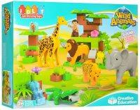 Конструктор JDLT Wild Animals 5286