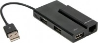 Картридер/USB-хаб Viewcon VE450