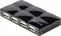 Картридер/USB-хаб Belkin USB 2.0 7-Port Mobile Hub Active