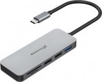 Картридер/USB-хаб Grand-X SG-512