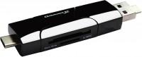 Картридер/USB-хаб Grand-X CR-575