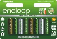 Аккумуляторная батарейка Panasonic Eneloop Botanic 8xAA 1900 mAh