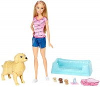 Кукла Barbie Newborn Pups and Pets FDD43
