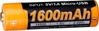 Аккумуляторная батарейка Fenix ARB-L14U 1600 mAh
