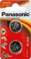 Аккумуляторная батарейка Panasonic 2xCR2032EL