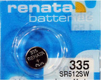 Аккумуляторная батарейка Renata 1x335