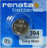 Аккумуляторная батарейка Renata 1x394