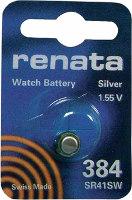 Аккумуляторная батарейка Renata 1x384