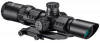 Прицел Barska SWAT-AR Tactical 1-4x28 IR Mil-Dot R/G
