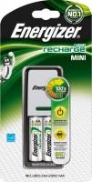 Зарядка аккумуляторных батареек Energizer Mini Charger + 2xAA 2000 mAh