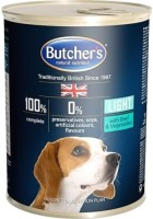 Корм для собак Butchers Lite Canned Pate with Beef/Vegetables 0.4 kg